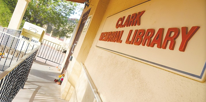 The Clarkdale Town Council is expected to decide the fate of the historic Clark Memorial Library in a special meeting Tuesday. (VVN file photo)