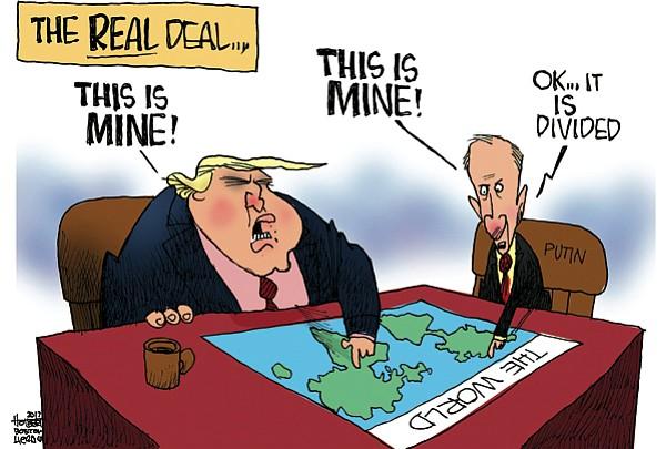 Editorial Cartoon: May 21, 2017