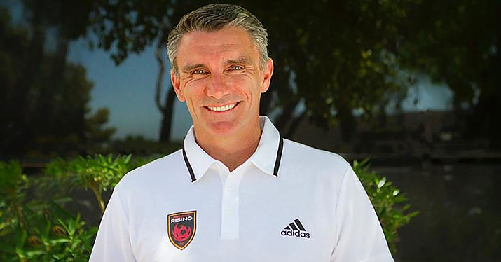 Patrice Carteron was named head coach of the Phoenix Rising.