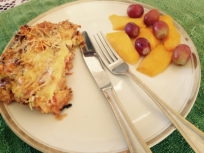 Spicy Breakfast Bread Pudding is a savory casserole your family will love.