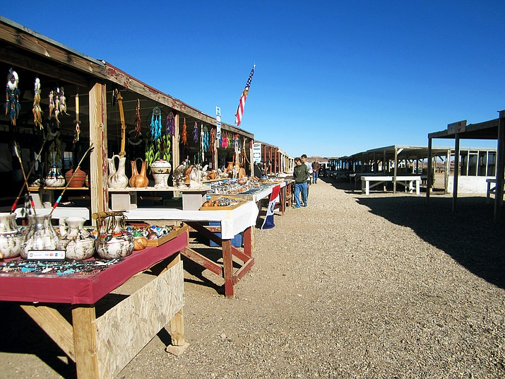 Vendors at the Little Colorado Tribal Park on the western side of the Navajo Nation said fees to operate vending booths and shorter hours is affecting vendors ability to make a living. Katherine Locke/NHO
