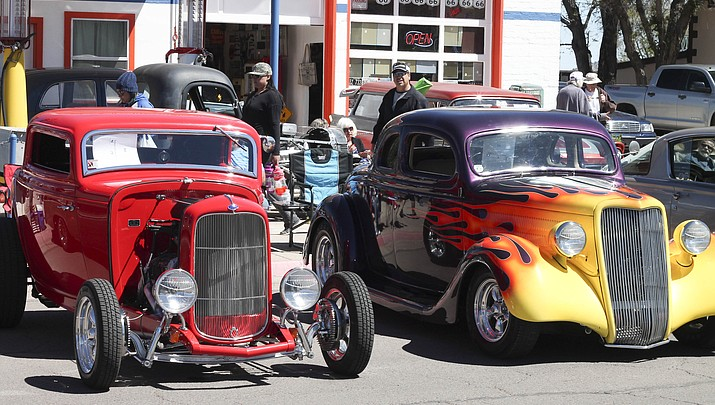 Historical Route 66 Car Show rumbles into Williams (photo gallery)