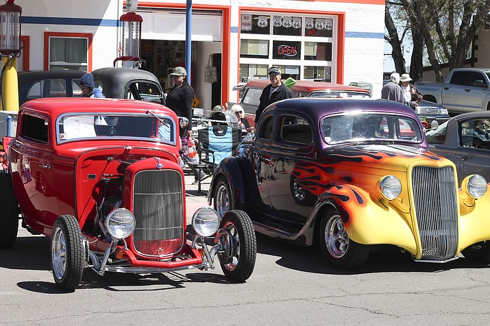 Historical Route Car Show Rumbles Into Williams Photo Gallery - Route 66 car show