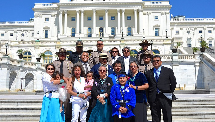 Nation supports family of fallen Navajo Police Officer