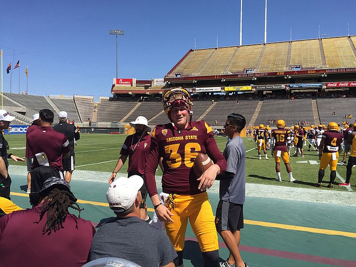 Arizona State punter Michael Sleep-Dalton is one of a growing number of Australians kicking for U.S. college teams.
