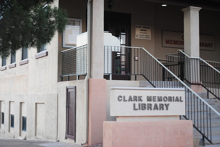 The Clarkdale Town Council has voted to close Clark Memorial Library June 30. (VVN/Jennifer Kucich)
