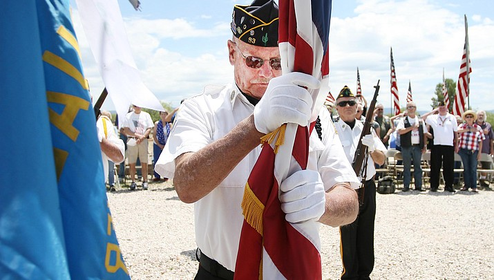 American Legion Post 93 presents annual  Memorial Day service at Clear Creek Cemetery