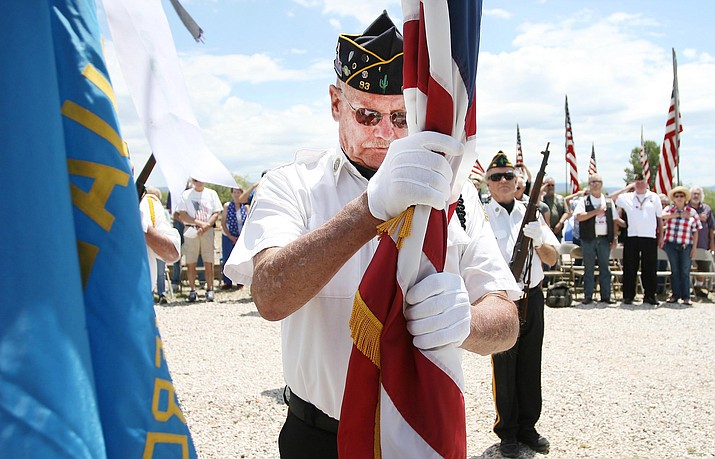 At 11 a.m. Monday, American Legion Post 93 will host its annual Memorial Day service at Clear Creek Cemetery. (Photo by Bill Helm)