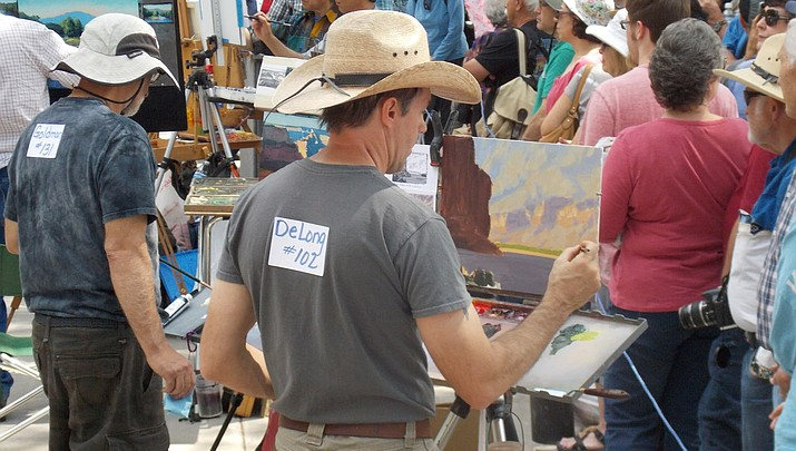 Quick Draw attracts 23 artists