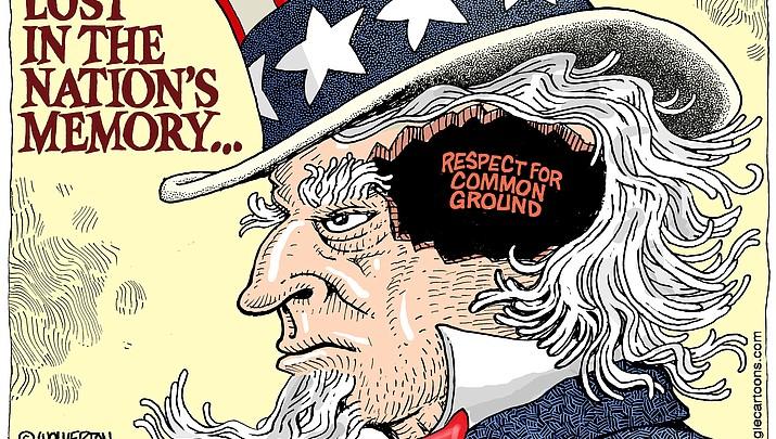 Editorial Cartoon: May 26, 2017