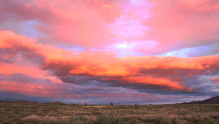 Photo: Kingman's gorgeous sky