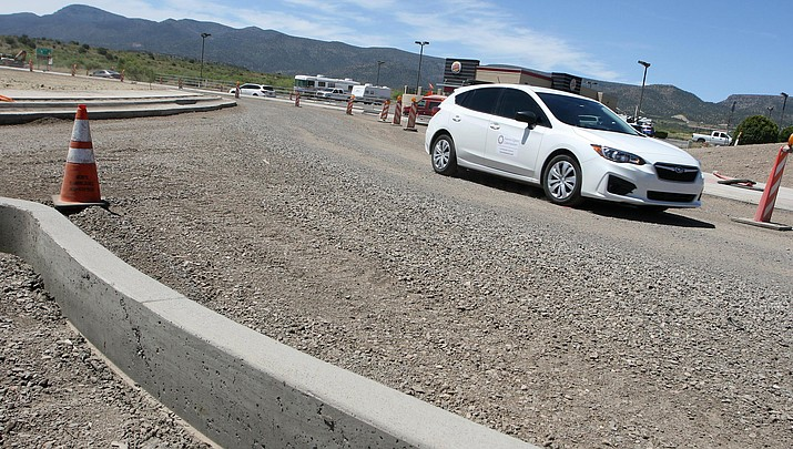 Traffic circle at SR 260 and Industrial/Goswick to be finished in early June