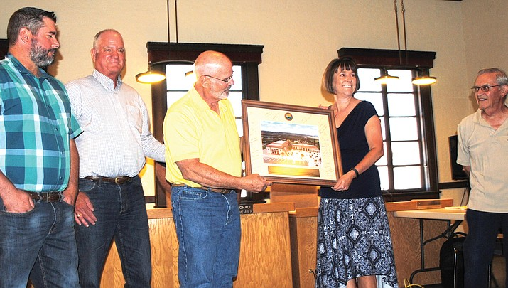 Gayle Mabery receives recognition for 25 years of service
