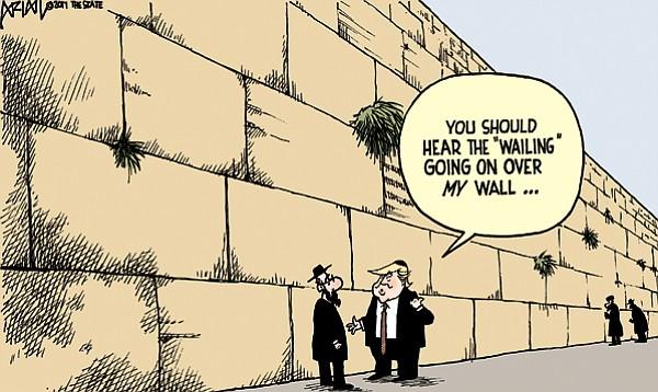 Editorial Cartoon: May 28, 2017