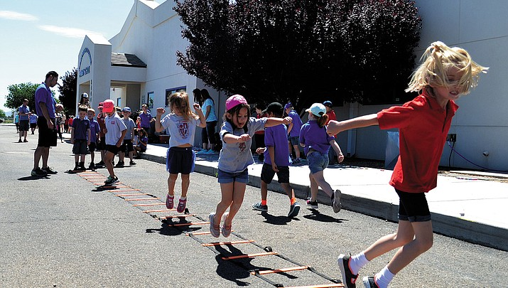 Hopping Into Summer: End of School Field Day