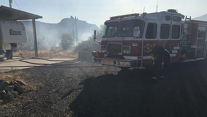 UPDATE: Black Canyon City residents evacuated due to wildfire