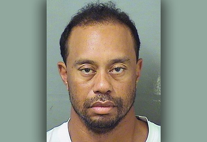 Police in Florida said Tiger Woods has been arrested for DUI. (Palm Beach County Sheriuff's office via AP)