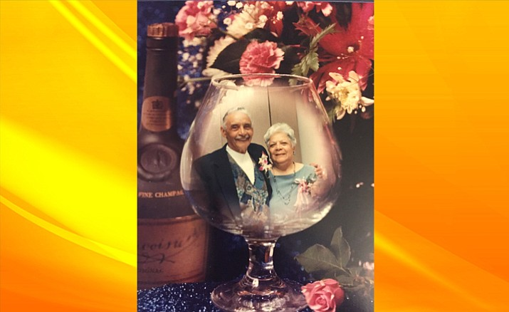 Ray and Liz Thompson were married for 61 years. Ray  passed away in 2009. (Photo courtesy of Jim Cunningham, Jr.