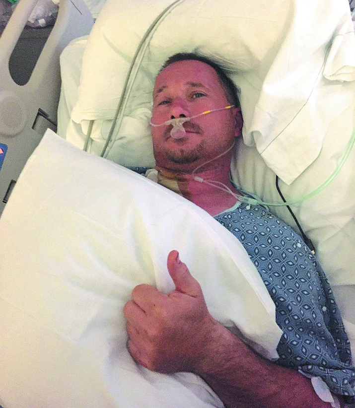 Frank Dazzo at University Medical Center in Las Vegas earlier in May.
