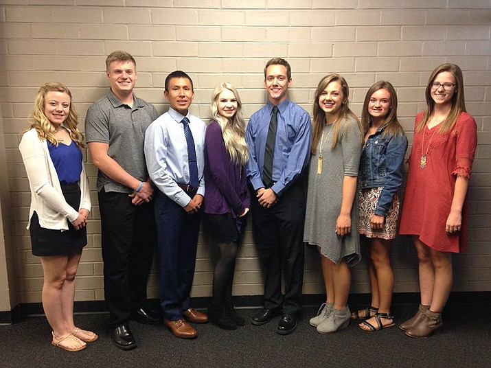 Youth Role Model scholarship recipients