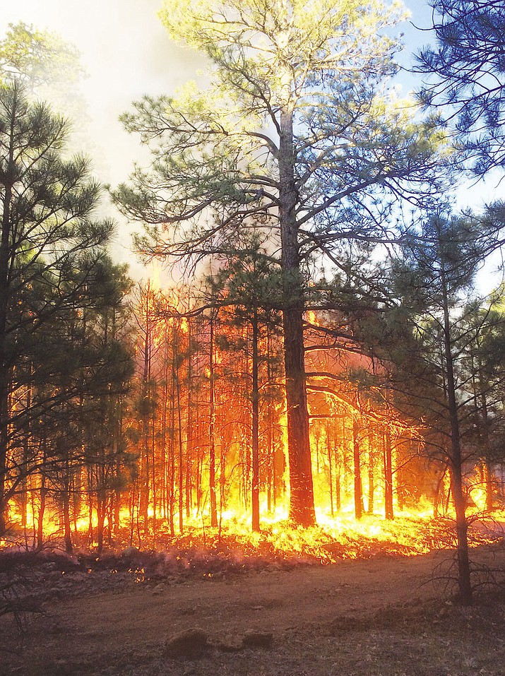 Crews Drop Exploding Balls To Help Contain Wildfire In