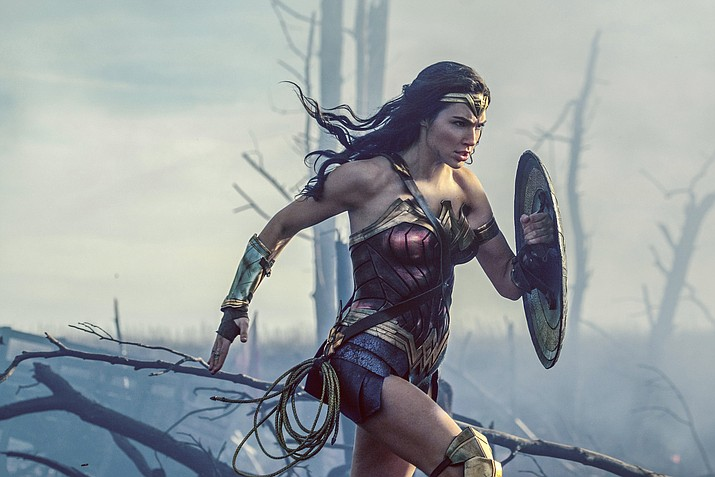 "Gal Godot stars in ""Wonder Woman."""