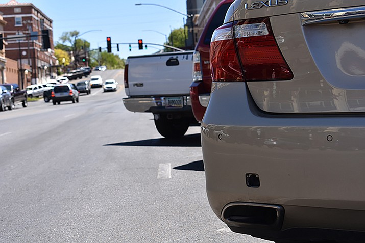 "Do you squeeze into a parking space in downtown Prescott, even though your vehicle doesn't technically fit within the space's lines? One hundred and fifty-seven drivers who paid fines of nearly $100 in 2016 would likely tell you an emphatic ""No."""