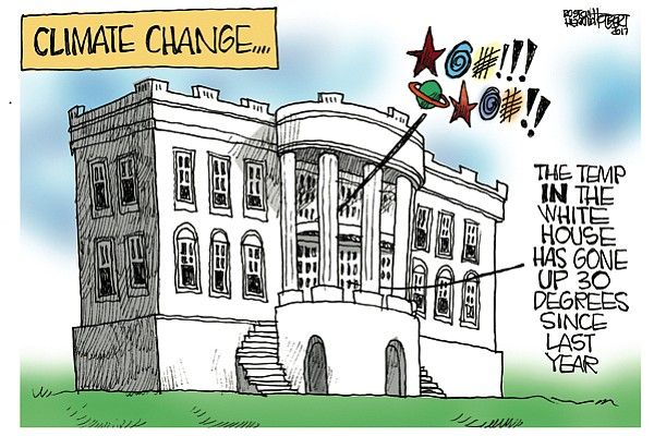 Editorial Cartoon: June 4, 2017