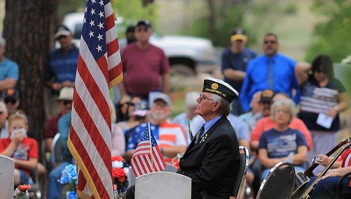 Memorial Day services May 28 in Williams