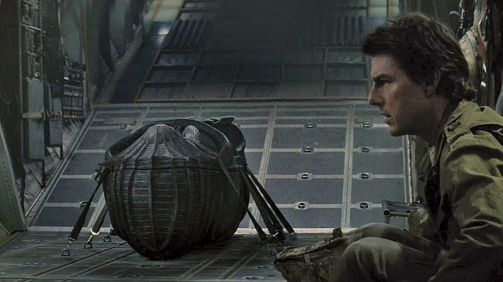 "Tom Cruise stars in ""The Mummy."""