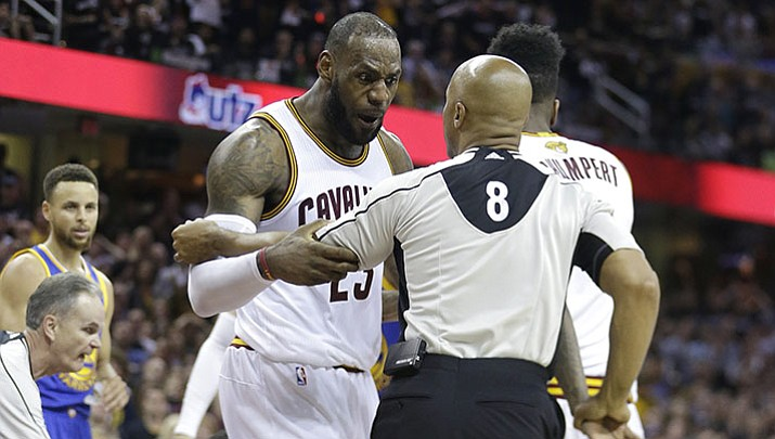 NBA Finals: Cavaliers muscle Warriors 137-116 | The Daily Courier | Prescott, AZ