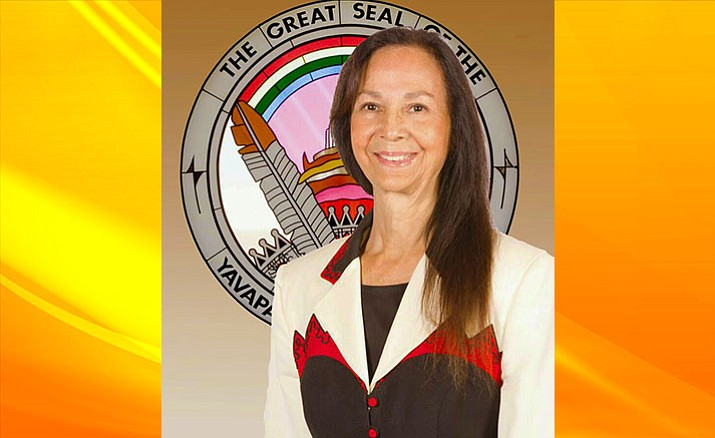 Yavapai-Apache Nation Chairwoman Jane Russell-Winiecki (Photo by Don Decker)