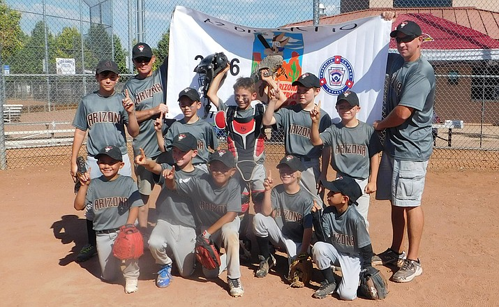 The Wacker Diamondbacks of Verde Valley Little League won the District 10 Tournament of Champions Little League baseball title last week. The Diamondbacks beat previously undefeated Prescott Valley and Camp Verde to win the championship. (Photo courtesy Heather Wacker)