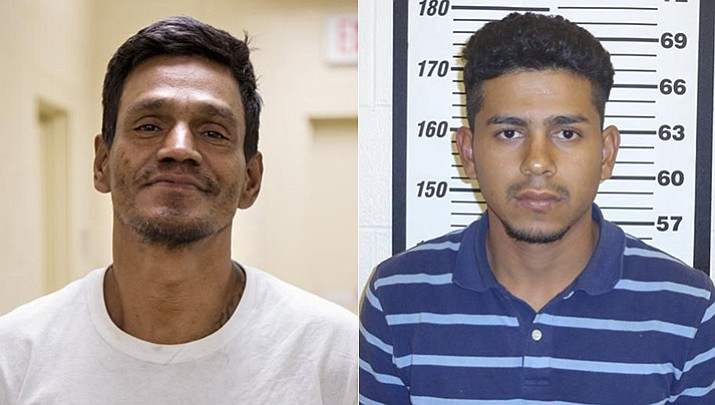 Antonio Torres-Colindres and Wilmer Orlando Redondo-Ulloa (Source: U.S. Customs and Border Protection)