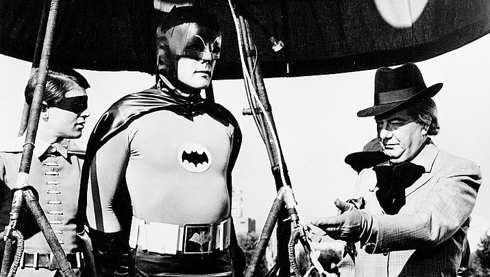 "Adam West starred in ""Batman"" for three seasons in the 1960s. He died Friday due to complications with leukemia."