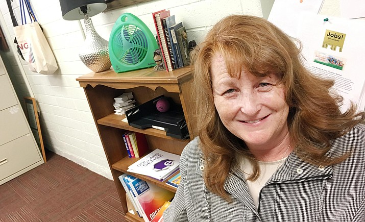 With more than 20 years of experience in management, administration and computer support, Dewey-Humboldt Town Clerk Judy Morgan will take over as the Town of Camp Verde's Town Clerk on July 3. (Photo by Bill Helm)