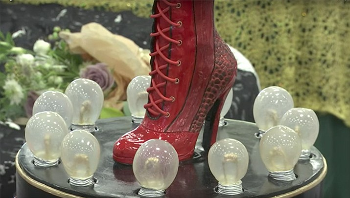 Cake Decorating Competition Tv Show :  Kinky Boots  cake wins Best in Show at design competition The Daily Courier Prescott, AZ