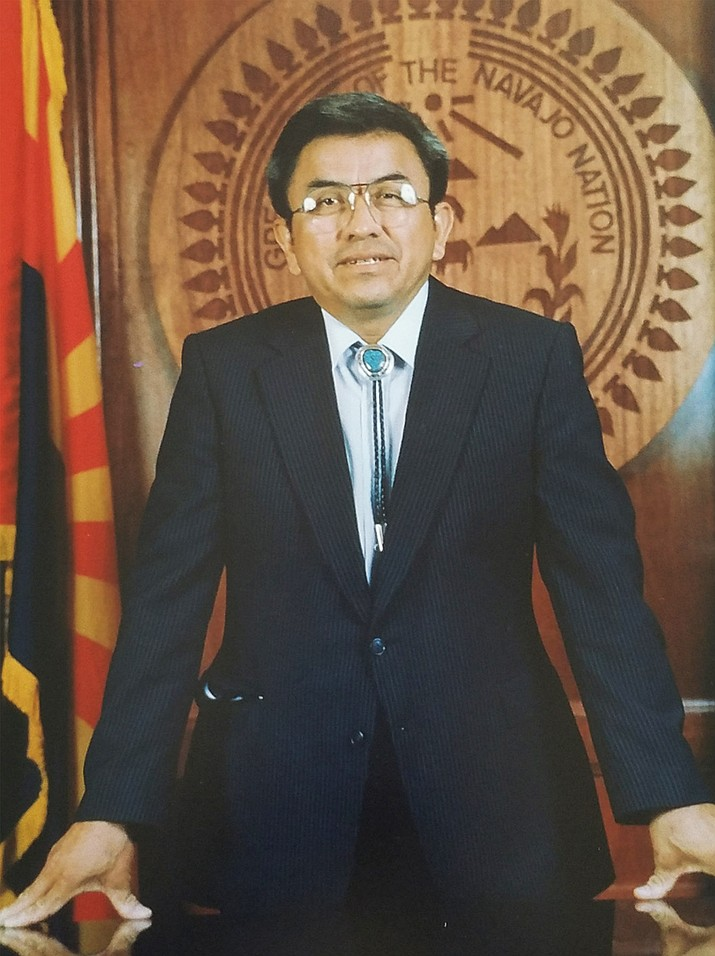 Irving Marcus Billy served as interim vice president of the Navajo Nation from 1989-1991. He passed away June 2. Submitted photo