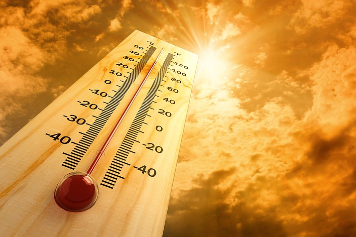 The Verde Valley is expected to approach or even exceed 108 degrees this weekend and into next week, according to an advisory from Yavapai County Community Health Services. Adobe Stock Image