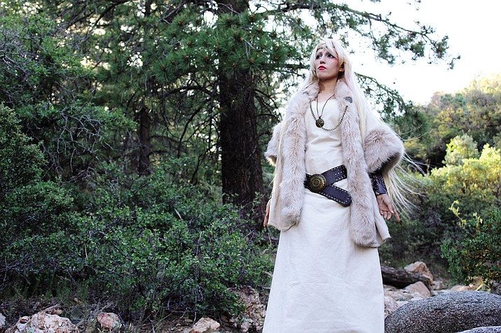 Kingman local, Miss Odango, was cast as the Norse goddess, Skadi, in an upcoming film.