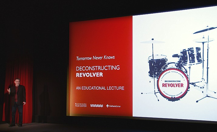 """Deconstructing The Beatles: Revolver"" will be shown at the Mary D. Fisher Theatre, 2030 W. Highway 89A, in West Sedona."