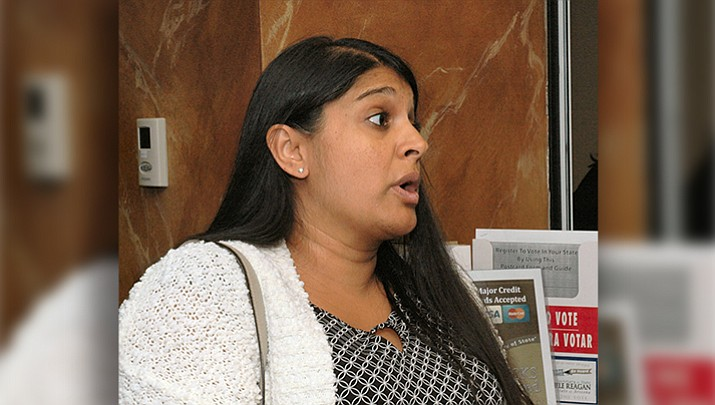 In a lawsuit, Attorney Roopali Desai contends the legislature violated the constitutional rights of voters to propose their own laws by erecting a new hurdle. She wants the court to block the law from taking effect as scheduled on Aug. 9. (Capitol Media Services 2017 file photo by Howard Fischer)