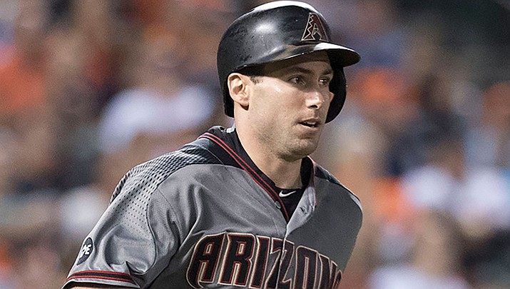 Paul Goldschmidt hit a two-run double and also made a key catch to lead the D-backs to their sixth straight win.