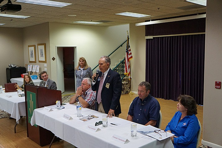 Candidates respond to PSPRS questions