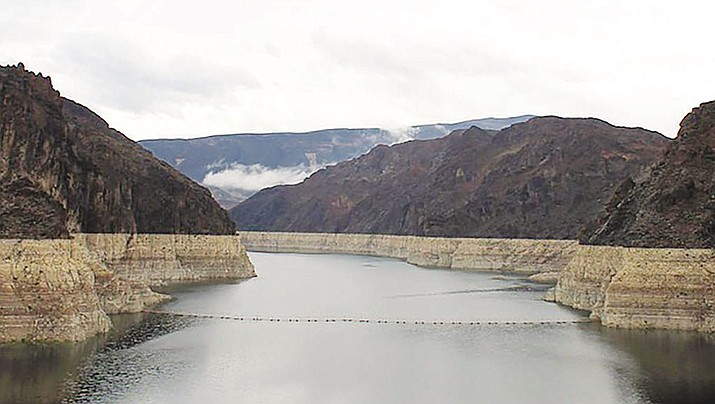 Lake Mead water levels are predicted to be 20 feet lower in 2019 than the Bureau of Reclamation's two-year study released in May.