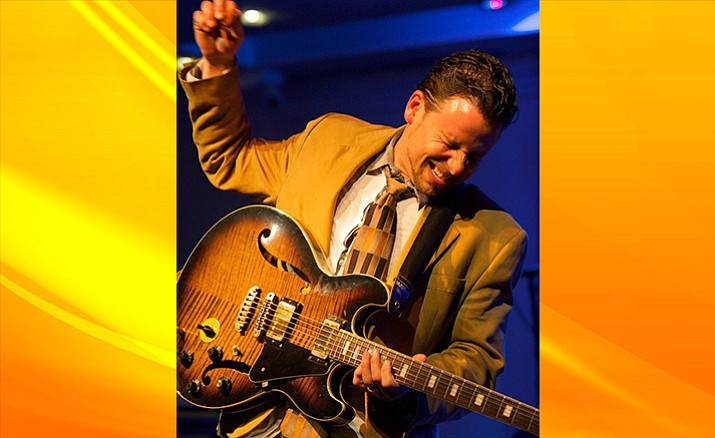 JJ Sansaverino brings eclectic guitar sounds to Sedona's Sound