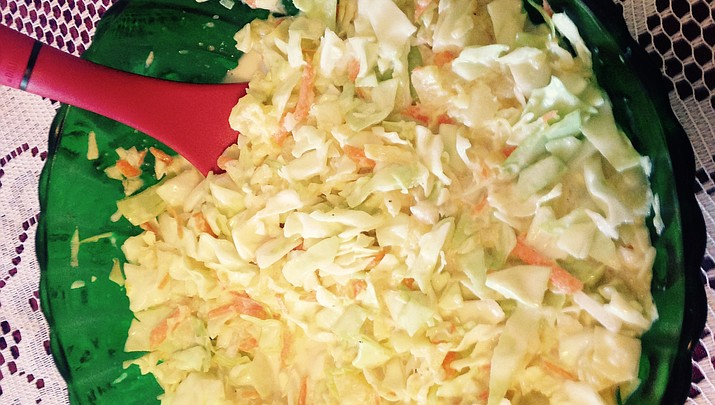 Cooking with Diane: Pineapple Cole Slaw