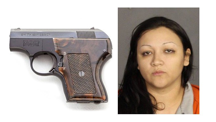Police say that when Ashley Cecilia Castaneda was arrested in 2015, she told officers on her way to McLennan County Jail that she was packing a loaded handgun in her birth canal.