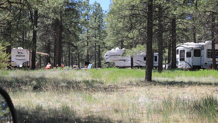 Northern Arizona campgrounds report unusually high occupancies