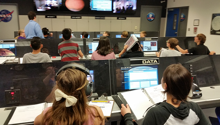 Chino students give NASA a helping hand